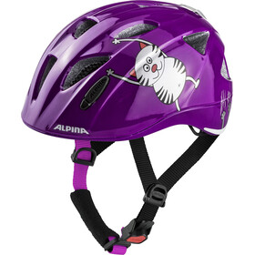 Alpina Ximo Flash Helmet purple cat